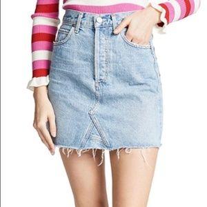 NWT Citizens of Humanity Denim Skirt